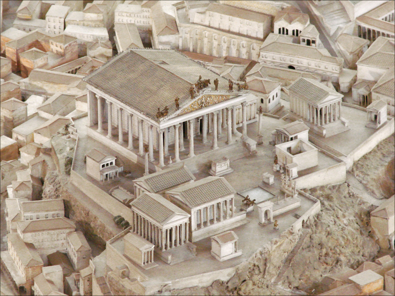 Gallery of Explore This 1:250 Model of Ancient Rome Which