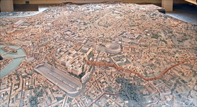 Explore This 1:250 Model of Ancient Rome Which Took 38 Years to Construct, © <a href='https://www.flickr.com/photos/dalbera/18462958283'>Flickr user dalbera</a> licensed under <a href='https://creativecommons.org/licenses/by/2.0/'>CC BY 2.0</a>