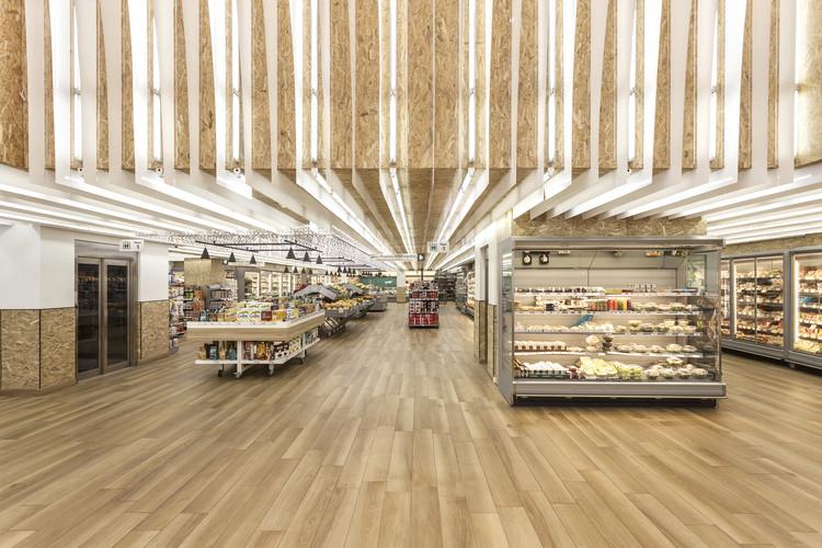 Thanopoulos Supermarket Kifisia- Athens / Klab architecture, © Mariana Bisti
