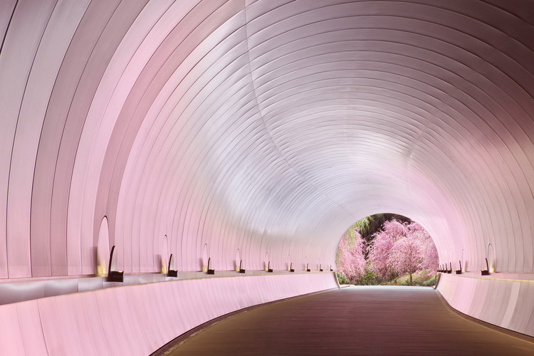 11 Works of Asian Architecture in Full Bloom, © Miho Museum