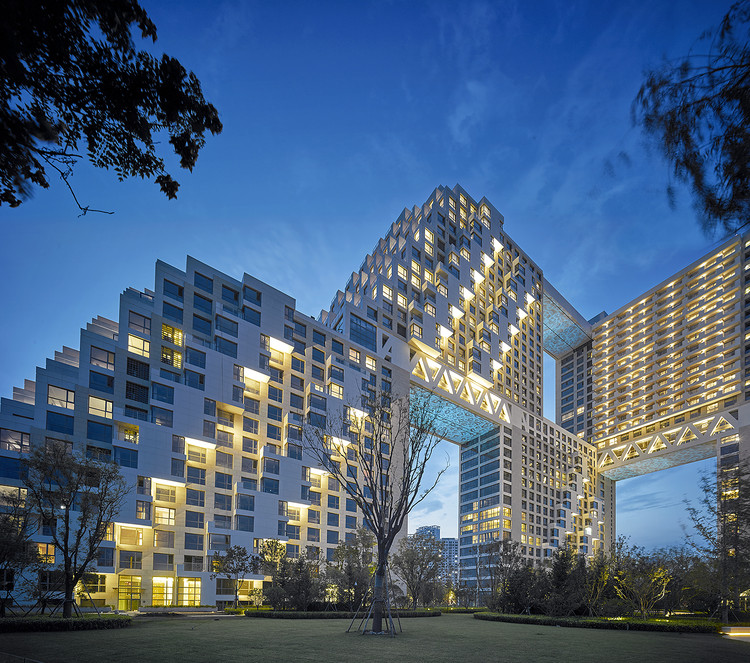 Habitat Qinghuangdao / Safdie Architects, Courtesy of Kerry Properties and Safdie Architects