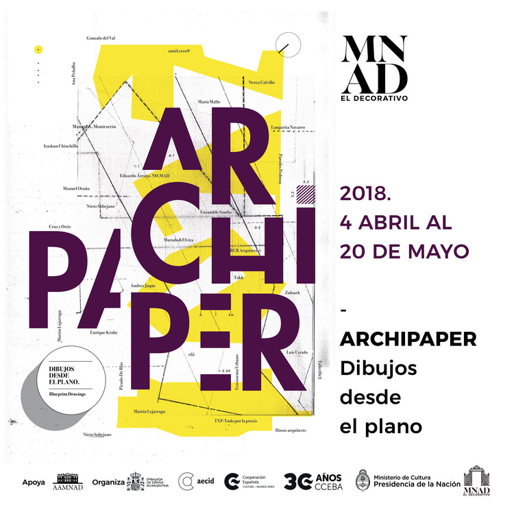 Archipaper: descubrí los dibujos y procesos creativos detrás de la arquitectura contemporánea española, Cortesía de Mueso Nacional de Arte Decorativo