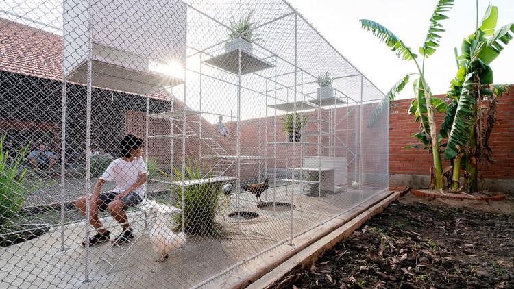 Chicken House / Tropical Space, © Quang Dam