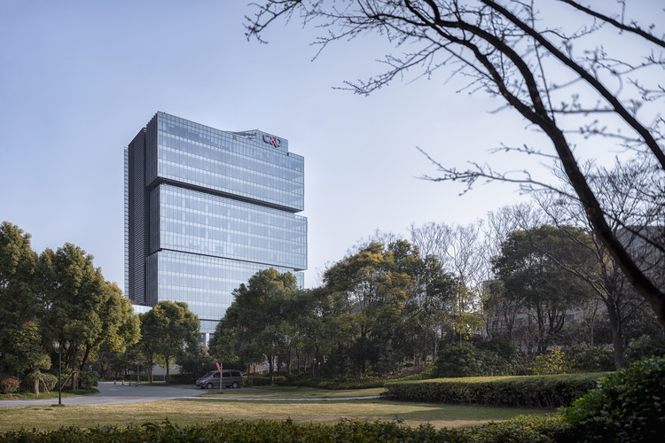Shanghai C&D Building / gad, © Jinrong Huang