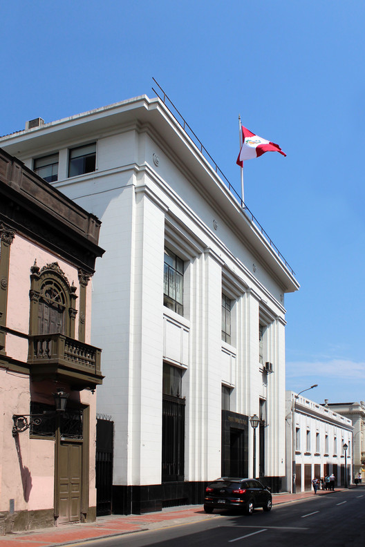 Reiser y Curioni Building / Héctor Velarde (1941). Image © Nicolás Valencia