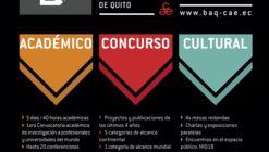 XXI BAQ2018: comienzan las inscripciones para la Bienal Panamericana de Arquitectura de Quito