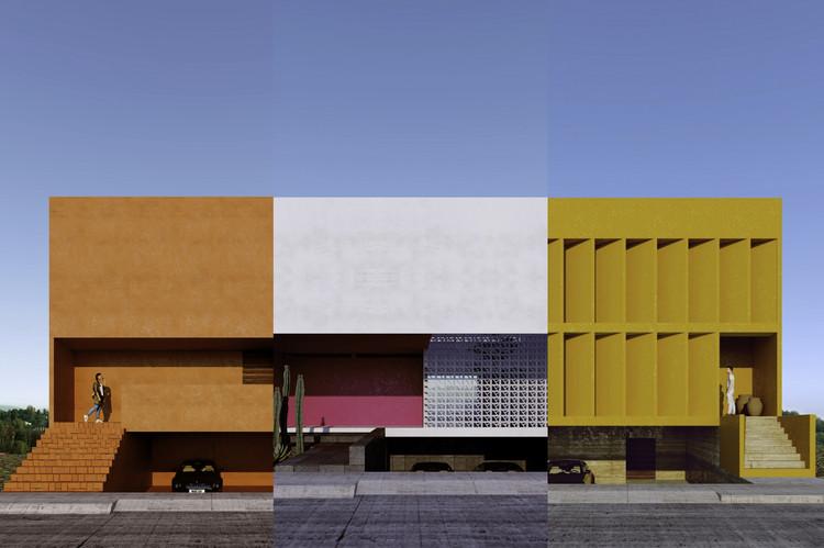 Resultados del Cuarto Taller de Diseño Arquitectónico 'Vivienda Unifamiliar' por Cota Paredes Arquitectos