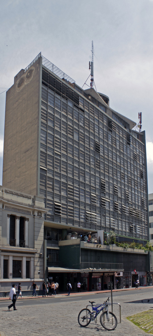 Atlas Building / Walter Weberhofer + José Álvarez Calderón (1953-1955). Image © Nicolás Valencia