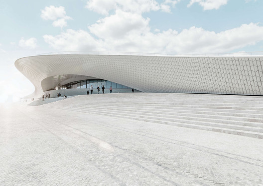 reSITE's RESONATE conference was held at the MAAT Museum in Lisbon, Portugal. Image © Joel Felipe