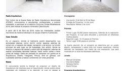 """Concurso """"Ondas Modeladoras"""" No. 7 Radio Arquitectura"""