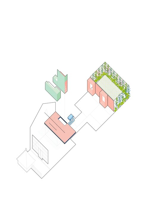 New Elements Axonometric