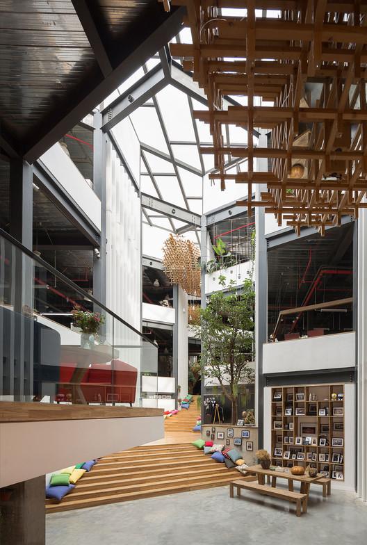1st Floor Lobby. Image © BenMo studio / YanMing