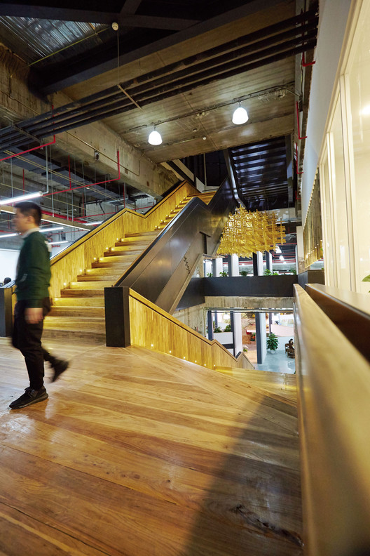 Stairs. Image © BenMo studio / YanMing