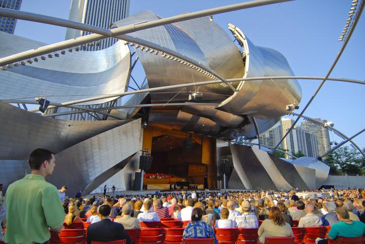 Jay Pritzker Pavilion  / Gehry Partners, © Patrick Pyszka