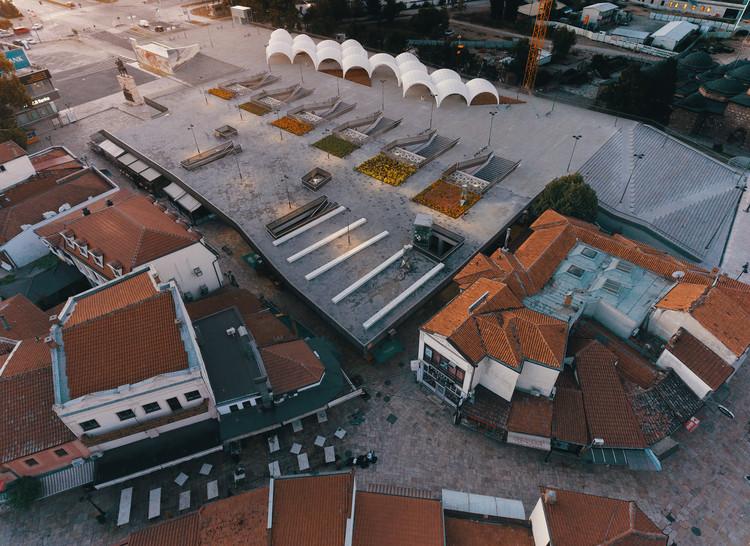 Skanderbeg Square in Skopje / qb Arkitektura + BINA + Besian Mehmeti Architects, © Rilind Hoxha