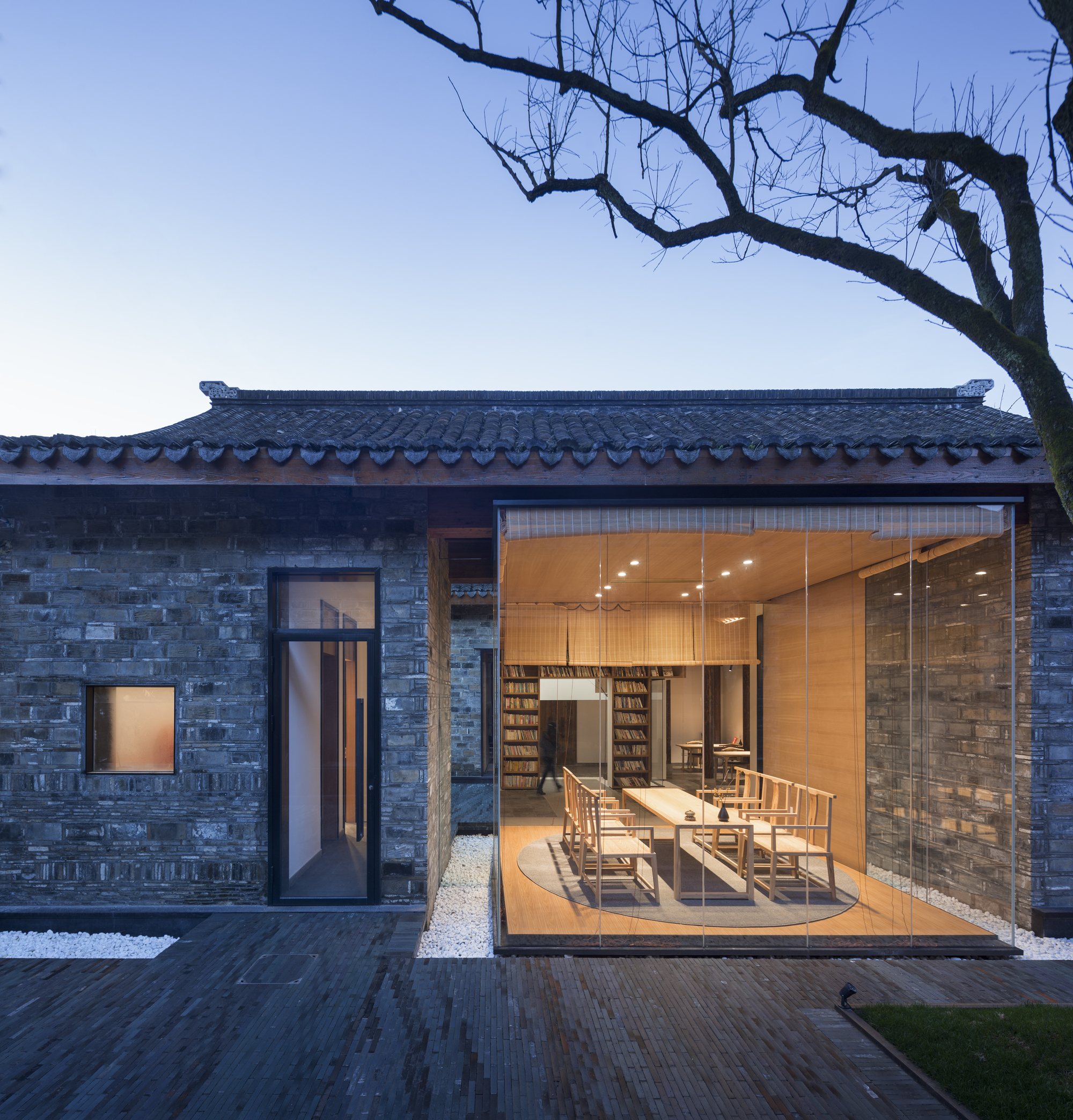 Jiangshan Fishing Village Renewal Mix Architecture