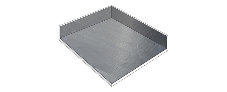 Membrana Asfáltica revestida de Aluminio. Image © ArchDaily