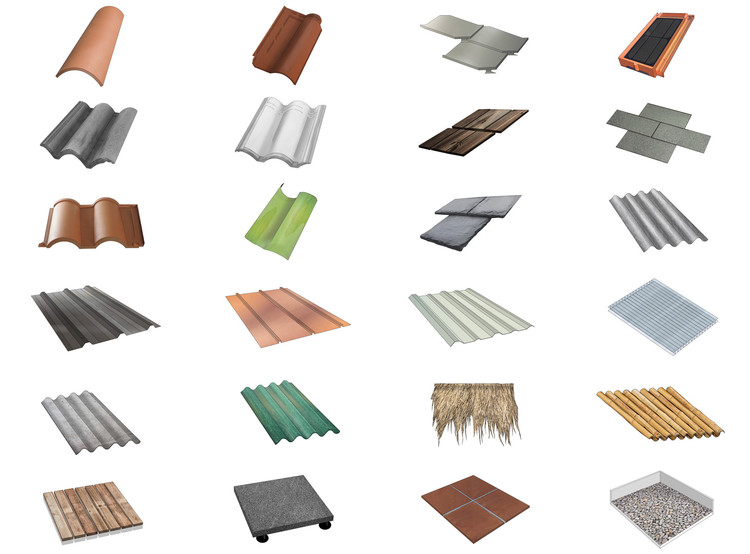 Roofing Guide: 26 Types of Tiles, Sheets and Membranes to Cover Architectural Projects