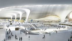 Zaha Hadid Architects to Design Navi Mumbai International Airport