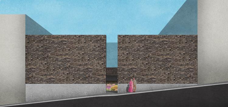 Concurso para o Memorial às Vítimas da Kiss: conheça os vencedores, 1º lugar. Image Cortesia de Concurso Público Nacional de Arquitetura para o Memorial às Vítimas da Kiss