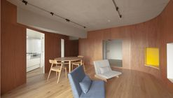 A Draped Wall in Ikebukuro  / Tailored design Lab
