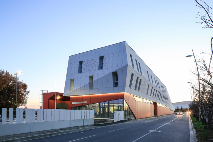 Technical Center of Blagnac / NBJ architectes, © Paul Kozlowski