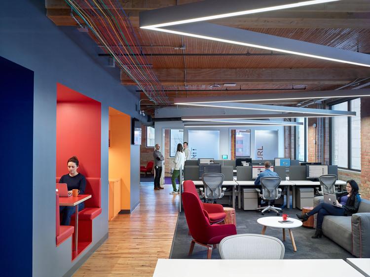 Slack Toronto Office / Dubbeldam Architecture + Design, © Shai Gil