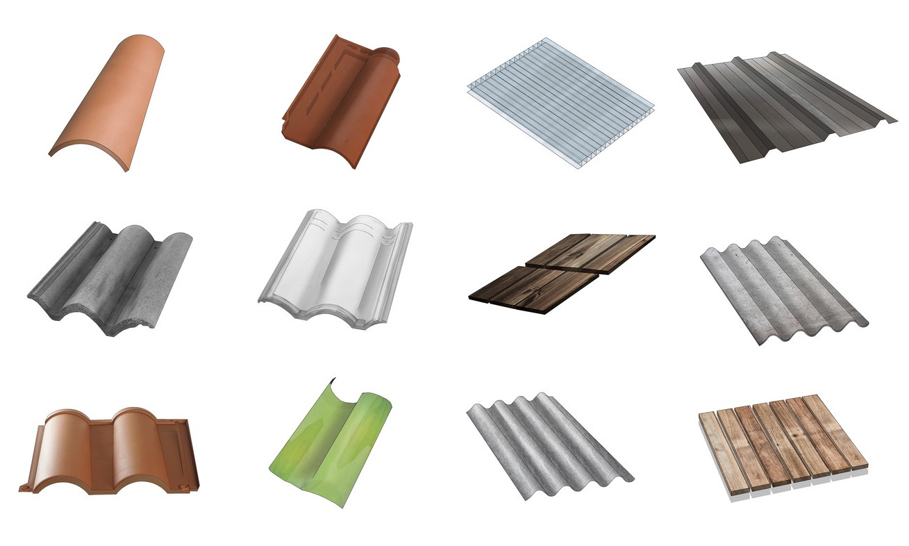 Roofing guide 26 types of tiles sheets and membranes to - Tipos de tejados para casas ...
