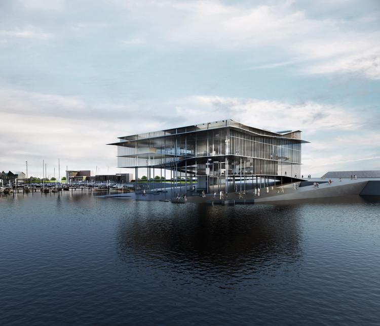 Terceiro projeto de Dorte Mandrup para o Mar de Wadden, Patrimônio Mundial da UNESCO, Cortesia de Dorte Mandrup