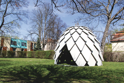 Meditate In This Mobile Nature-Inspired Pinecone Gazebo