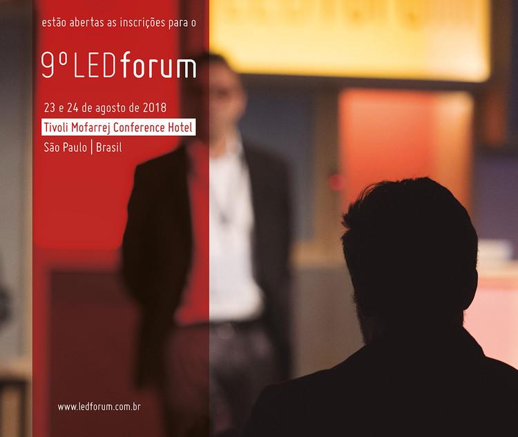 9º LEDforum, Inscrições abertas para o 9º LEDforum. Acesse: www.ledforum.com.br