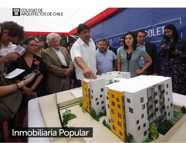 Chile: Daniel Jadue y Juan Sabbagh exponen en vivo alcances de la Inmobiliaria Popular, vía Colegio de Arquitectos