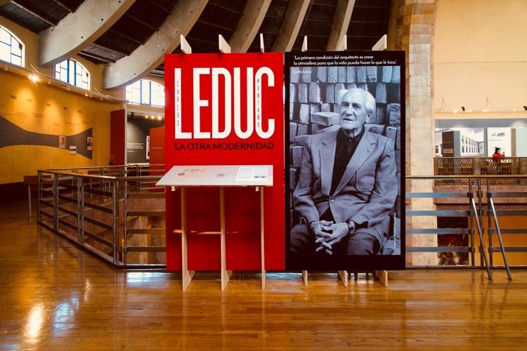 'La otra modernidad' Carlos Leduc en el Museo Nacional de Arquitectura, Cortesía de Facultad de Arquitectura, UNAM