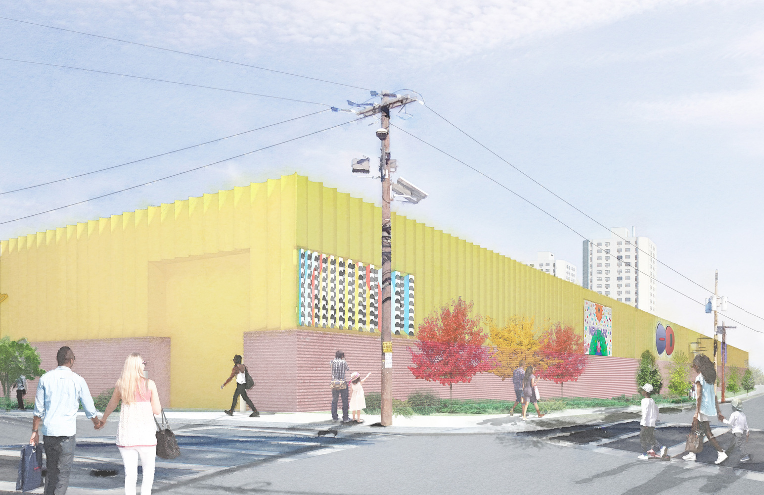 Gallery of Adjaye Associates Transform Electrical Switching Station ...