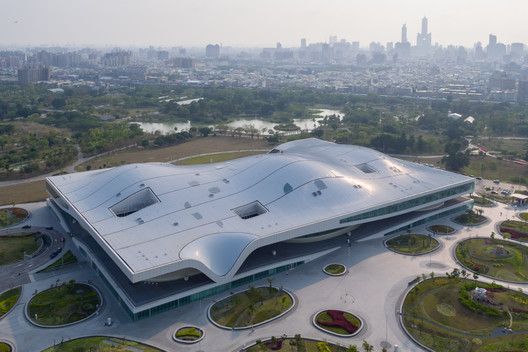 World's Largest Single-Roof Performing Arts Center by Mecanoo Nears Completion in Taiwan