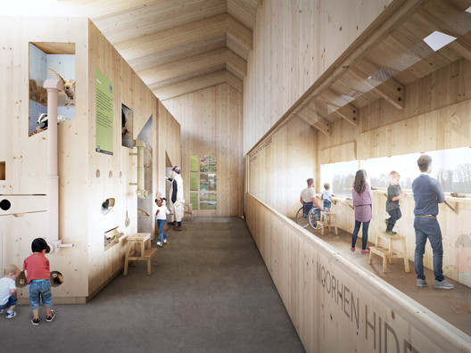 Nature and Wellbeing Center: Scheme D. Image Courtesy of RIBA