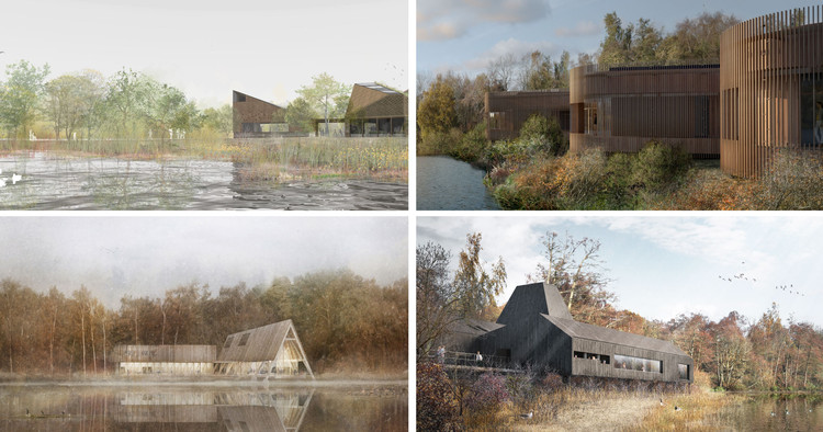 RIBA Announces Competition Shortlist for Innovative Nature and Wellbeing Center in Sevenoaks, Courtesy of RIBA