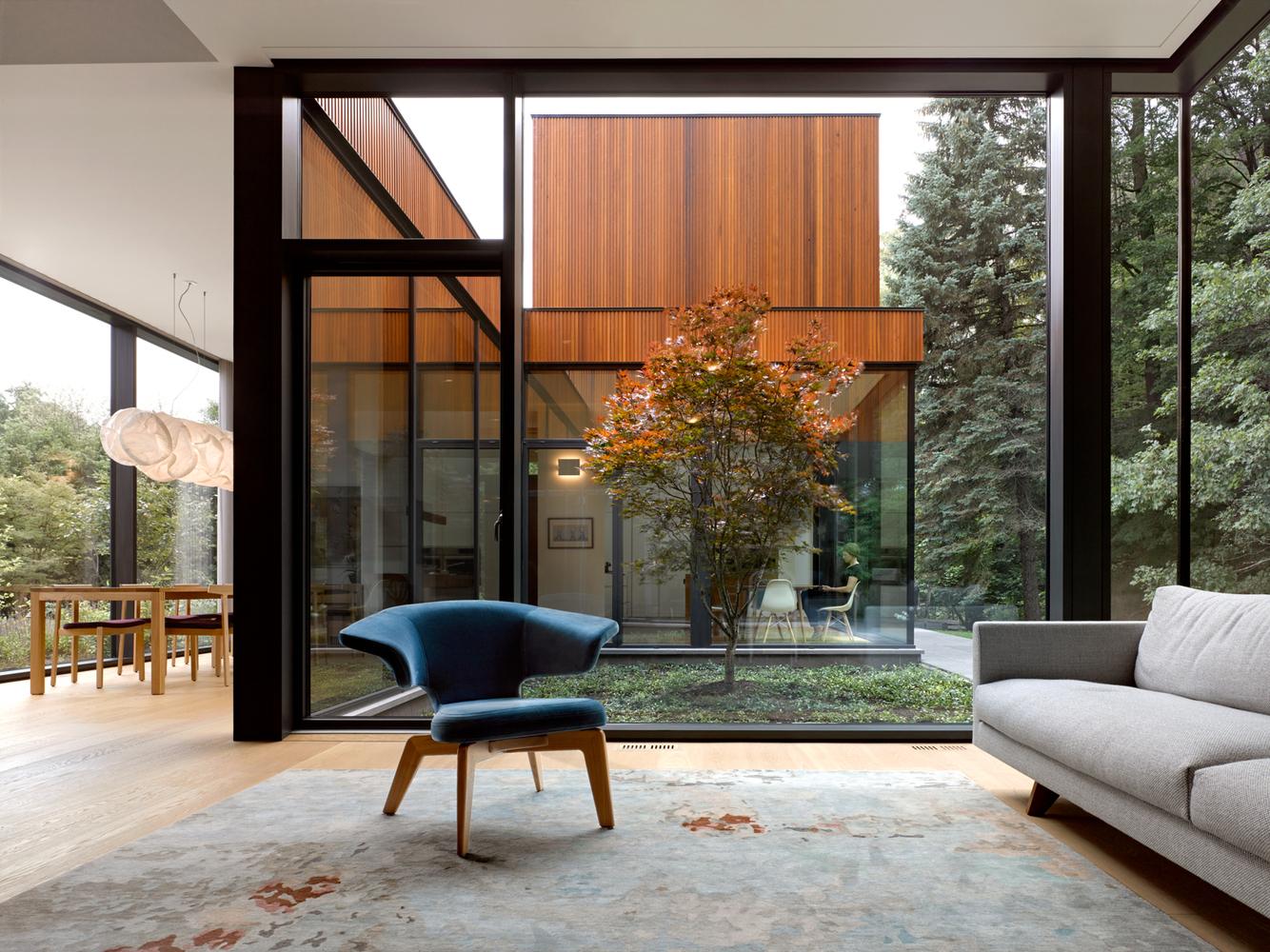 House on Ancaster Creek / Williamson Williamson, Canada, 2016 [1,334px × 1,000px]
