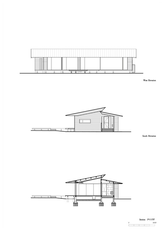 Elevations + Section
