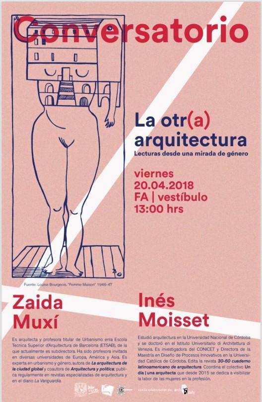 CONVERSATORIO 08: La otr(a) arquitectura. Lecturas desde una mirada de género., Comité organizador