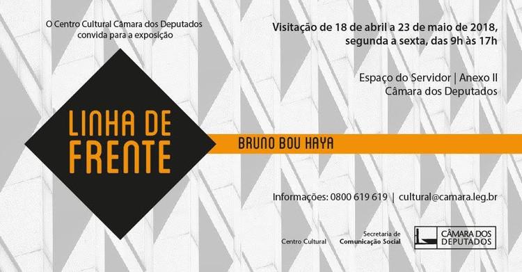Exposição Linha de Frente, de Bruno Bou Haya, Divulgação