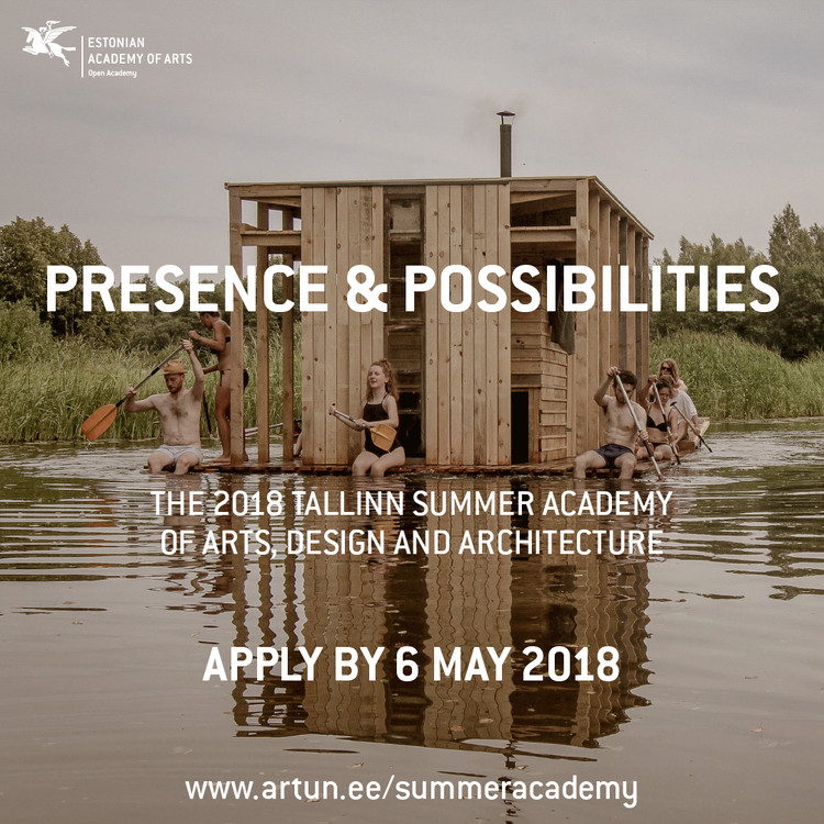 Call for applications: 2018 Tallinn Summer Academy of Art, Design and Architecture – Presence & Possibilities, Photo: Mari Hunt