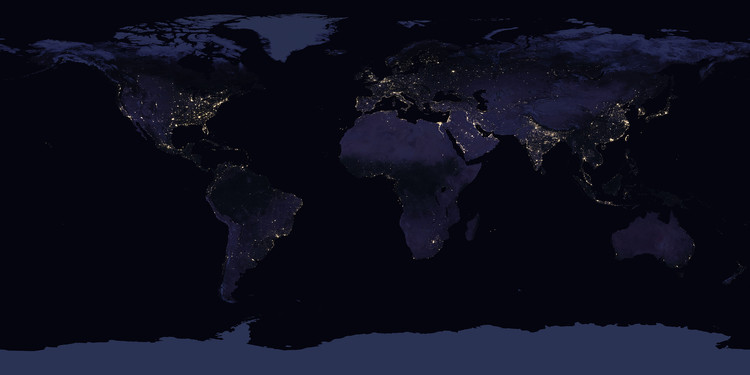 How Satellite Images of the Earth at Night Help Us Understand Our ...