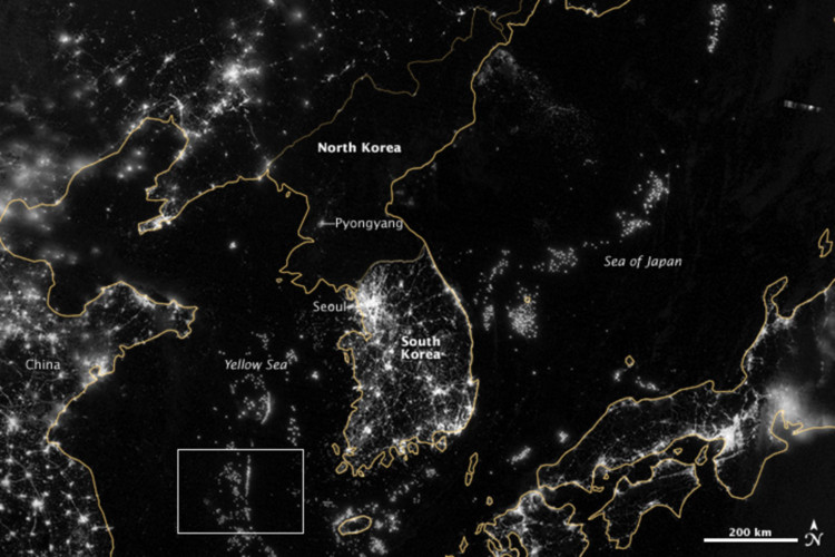 How Satellite Images Of The Earth At Night Help Us Understand Our