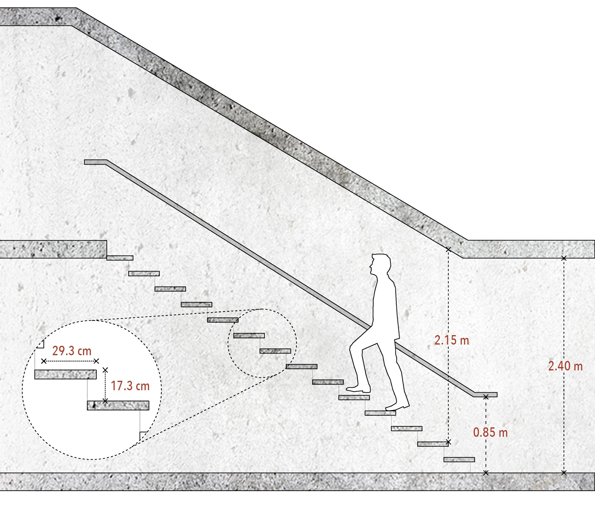 Gallery Of How To Calculate Staircase Dimensions And