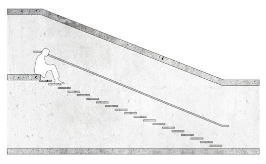 39x13 cm / Schematic example. Image © José Tomás Franco