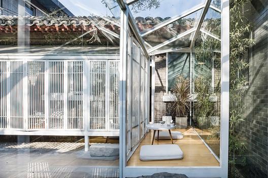 Inside the Bamboo Space. Image © Haolei Guan