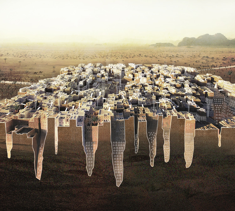 Manhattan of the Desert. Image Courtesy of eVolo