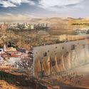 Sand Dam: Anti-desertification Skyscraper. Image Courtesy of eVolo