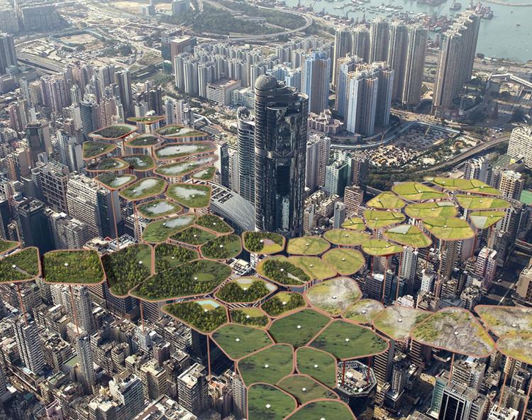 Hong Kong 2.0. Image Courtesy of eVolo